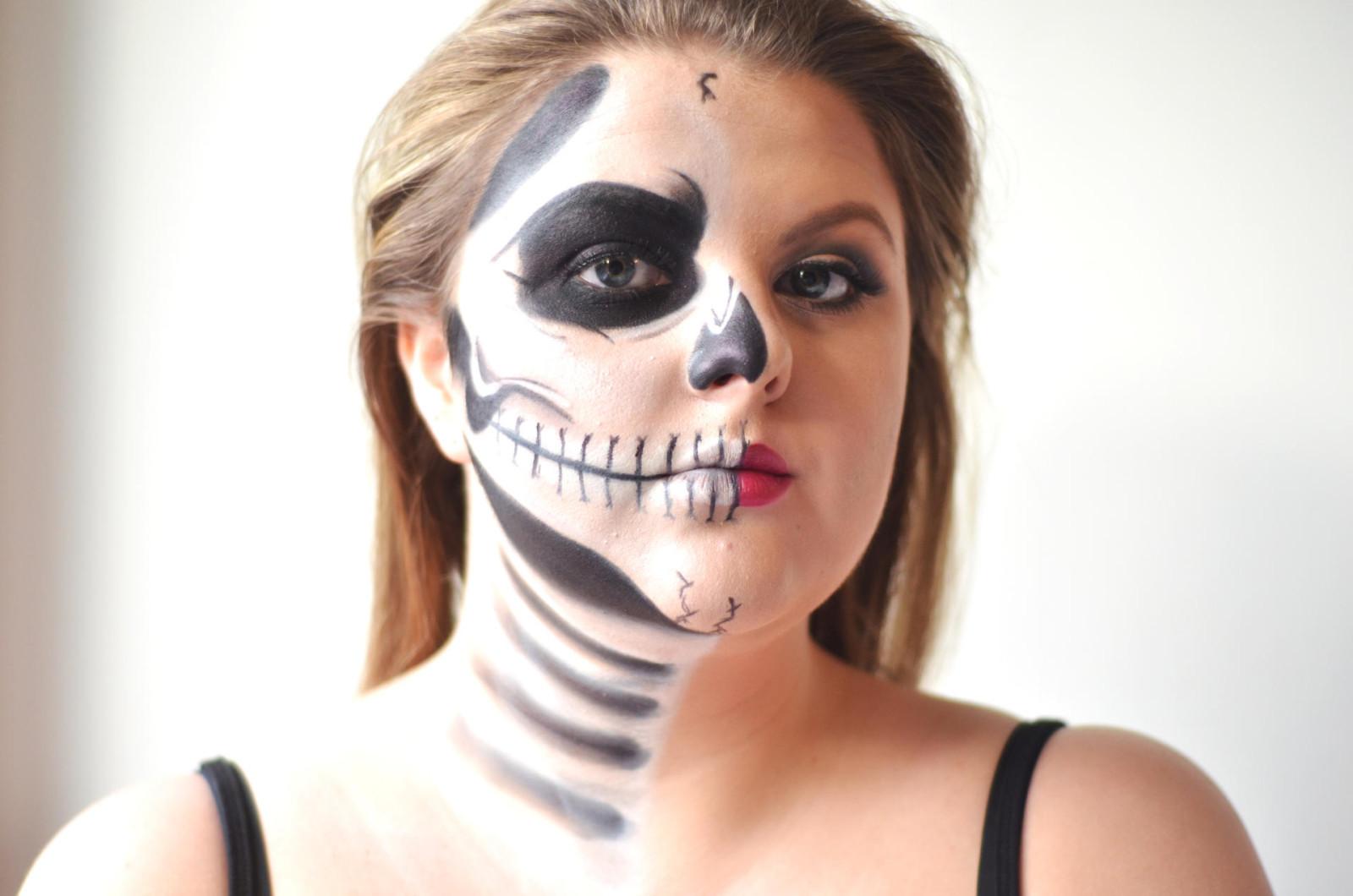 halloween skeleton eyes
